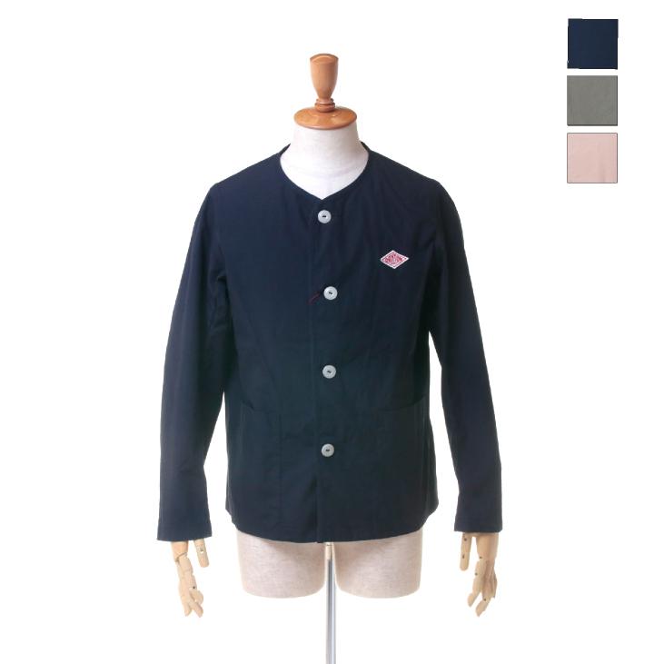 DANTON(ダントン) メンズ ダウンプルーフ ノーカラー ワークジャケット JD-8883 DUK 日本正規代理店商品