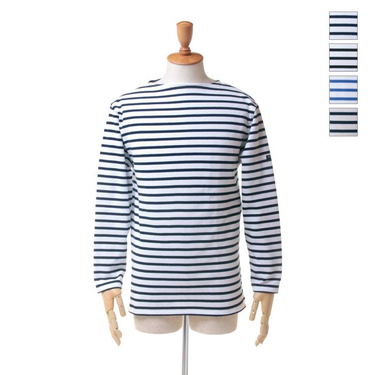 SAINT JAMES(セントジェームス) メンズ ボートネック ボーダー バスクシャツ 「ウエッソン」 OUESSANT R A 日本正規代理店商品