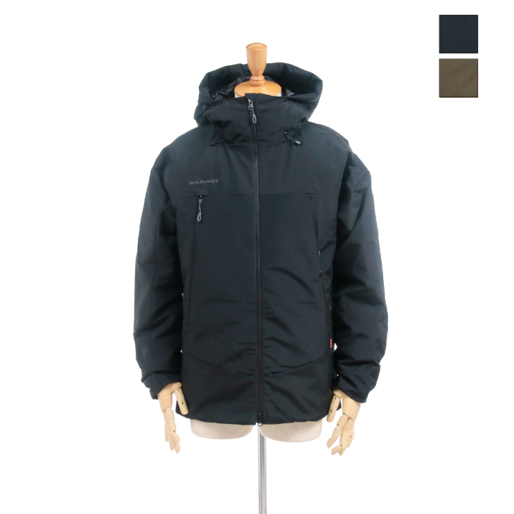 MAMMUT(マムート) メンズ ダウンジャケット クレーター ソフトシェル サーモ フーデッドジャケット アジアンフィット Crater SO Thermo Hooded Jacket AF Men 1011-00780