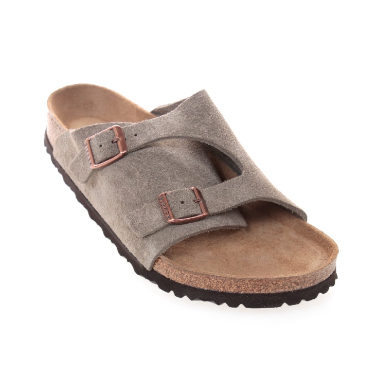 BIRKENSTOCK(ビルケンシュトック) メンズ サンダル チューリッヒ ソフトベッド スウェードレザー Zurich Soft Footbed Suede Leather 1009532 日本正規代理店商品