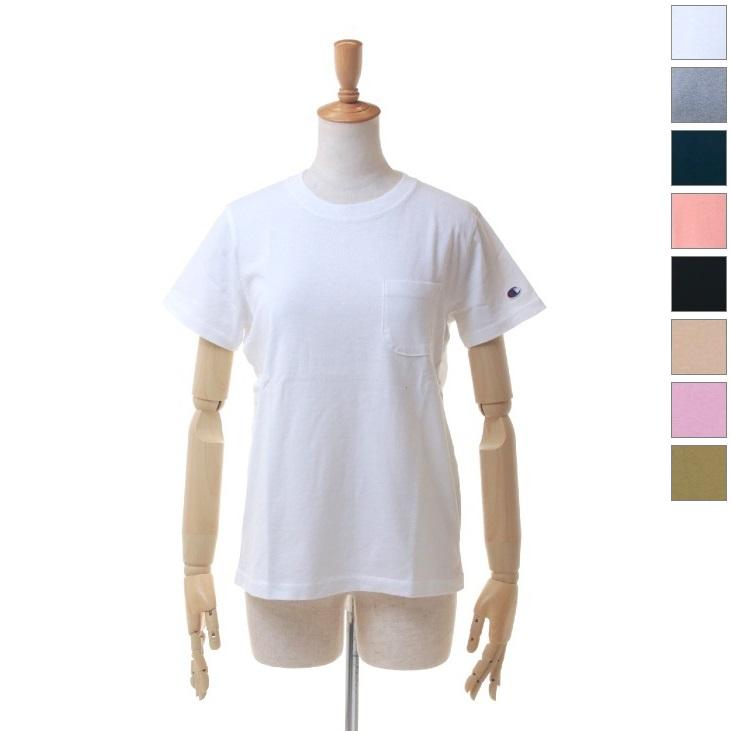 ポケットTシャツ [日本サイズ] レディース CW-M321 (19y3mトレーニング) チャンピオン [次回使えるクーポンプレゼント] (Champion)