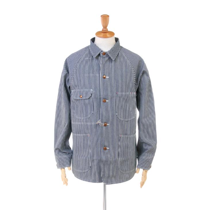 Orslow(オアスロウ) メンズ ヒッコリーストライプ 1950 カバーオール ジャケット 03-6140 2019春夏/新作