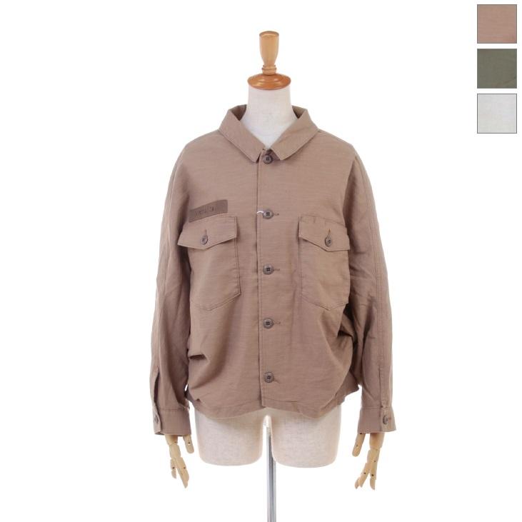 Antgauge(アントゲージ) レディース オーバーアーミーシャツジャケット ミリタリージャケット AA582 2020春夏/新作
