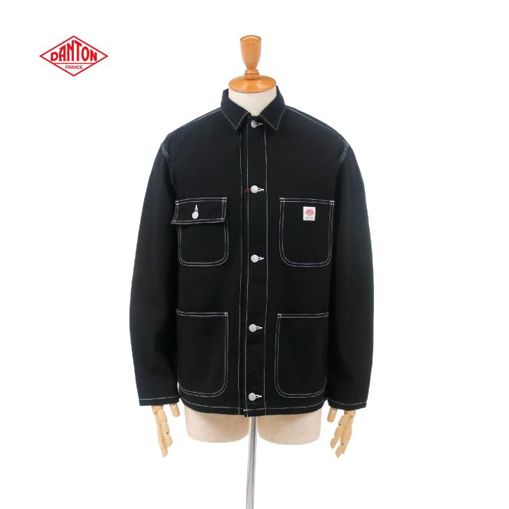 DANTON(ダントン) メンズ カツラギ カバーオール ツイルワークジャケット KATSURAGI JD-8046GAT 2020春夏/新作 日本正規代理店商品