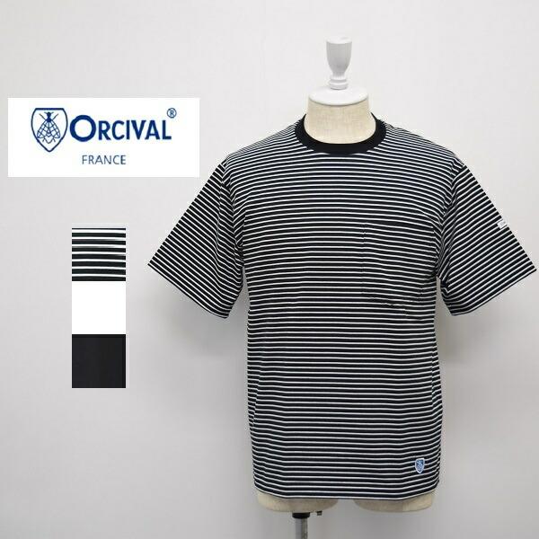 メンズ/ORCIVAL  オーシバル オーチバル/半袖 クルーネック ポケット Tシャツ ポケT/RC-9166