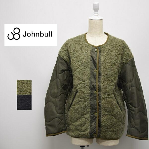 世界の レディース/Johnbull ジョンブル/リバーシブル ボア ブルゾン キルティング ジャケット/AH087, Lily Shop a60fbdd1