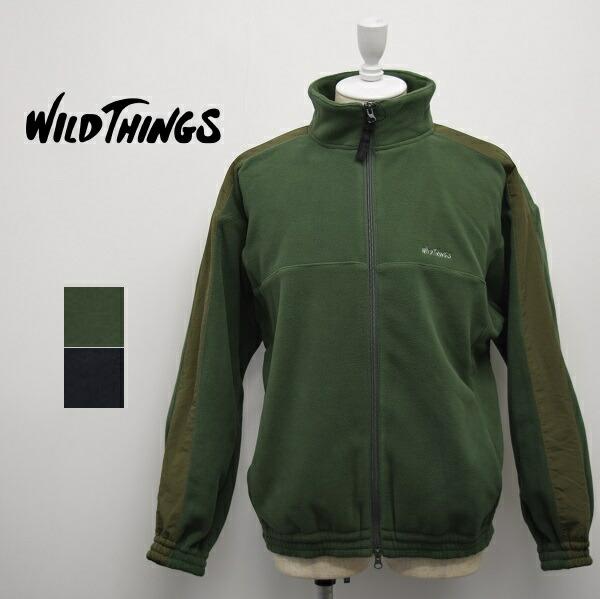 メンズ/WILD THINGS ワイルドシングス/ フルジップ ブルゾン フリース/WT19111N