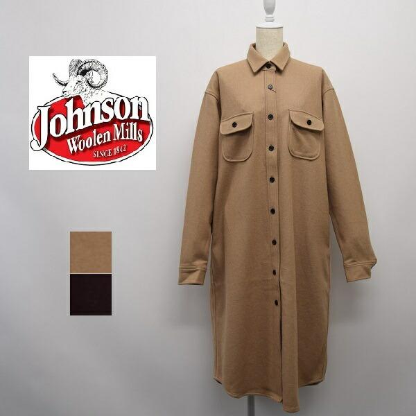 レディース/Johnson ジョンソン/ウール 無地 ワンピース/J01902S