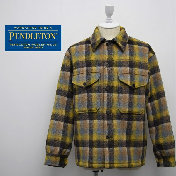 メンズ/PENDLETON ペンドルトン/レギュラー チェック ウール ジャケット/9575-8012