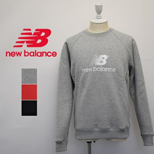 メンズ/new balance ニューバランス/クルーネック スウェット 長袖 裏起毛/MT93575