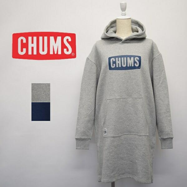 レディース CHUMS チャムス フード ワンピース CH18-1115 お買い得 商舗 スウェット