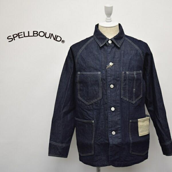 メンズ/SPELL BOUND スペルバウンド DOMINGO ドミンゴ/レギュラーカラー デニム カバーオール ジャケット/48-0626C