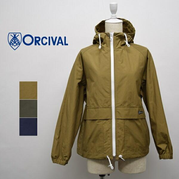 レディース/ORCIVAL  オーシバル オーチバル/マリンパーカー フルジップ フード ロクヨンクロス ジャケット/RC-8054NNC