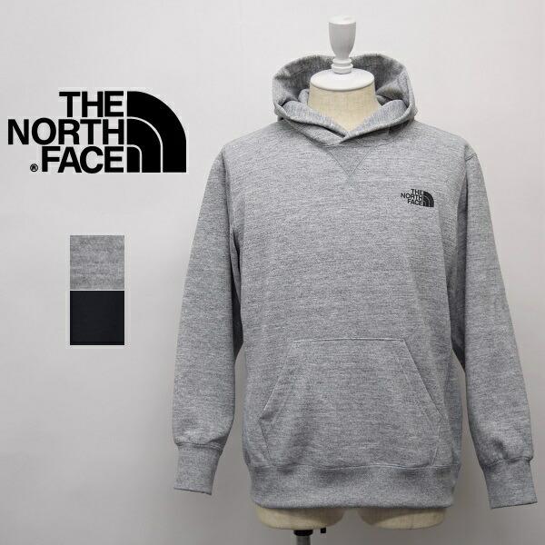 メンズ/THE NORTH FACE ザ ノースフェイス/BACK SQUARE LOGO HOODIE フルジップ スウェット パーカー フード 無地/NT12034