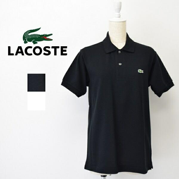 レディース/LACOSTE ラコステ/半袖 鹿の子 ポロシャツ /L1212AL