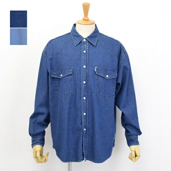 メンズ Johnbull ジョンブル ウエスタンシャツ 長袖シャツ 販売 デニムシャツ 13638 人気商品