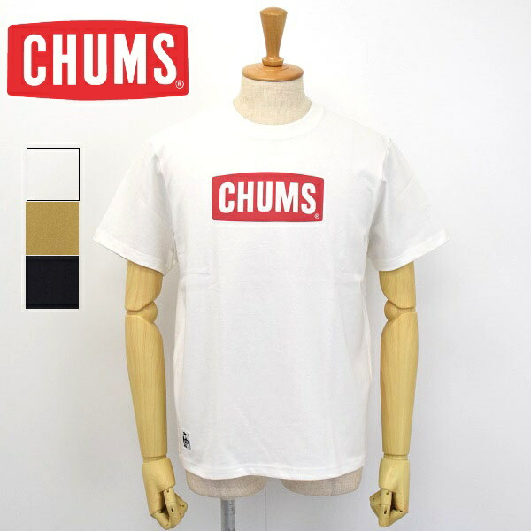 メンズ CHUMS チャムス Logo-T-shirt プリント 価格 公式 半袖 Tシャツ CH01-1833