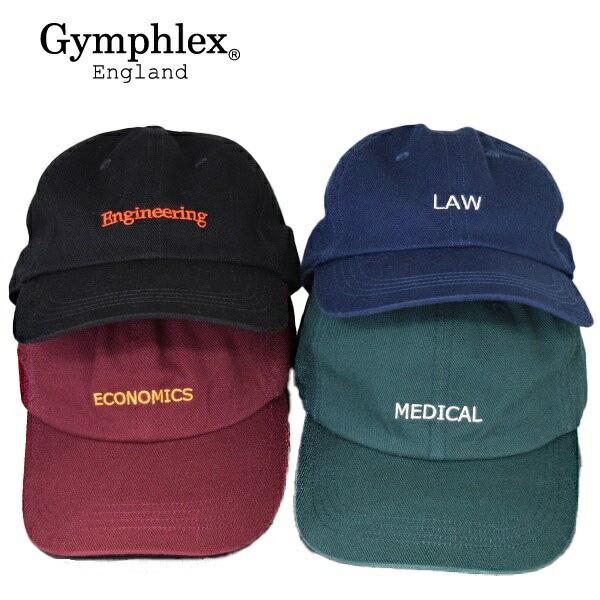 即納 帽子 Gymphlex ジムフレックス GY-H0034VCT キャップ コットン 数量限定
