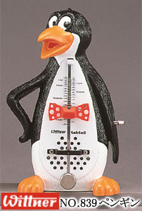 ウィットナー(WITTNER) メトロノーム ペンギン011 NO.839-011