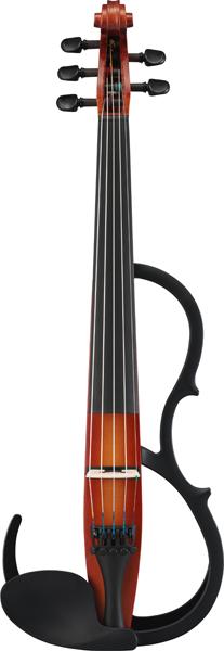 【送料無料】ヤマハ サイレントバイオリン SV255 ブラウン 5弦仕様