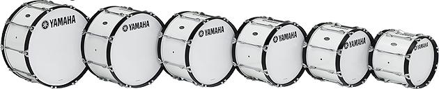ヤマハ マーチングバスドラム 26インチ MB-6326(ホワイト)WHITE MB-6326(フェスティブレッド)※納期約5ヶ月 POWER-LITE Series