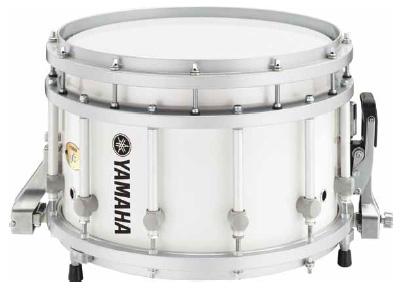 【14インチ】ヤマハ マーチングスネアドラム  MSS-9314WH(ホワイト)WHITE ショートモデル 【送料無料】