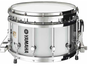 【14インチ】ヤマハ マーチングスネアドラム  MSS-9314CHWH(ホワイト)WHITE ショートモデル 【送料無料】