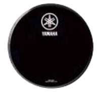 ヤマハレモ バスドラムフロントヘッド 本日限定 BF-P3EBY22 22インチ パワーストローク3 エボニー 最安値に挑戦 Custom用 Live ドラムヘッド ドラムセット用 22