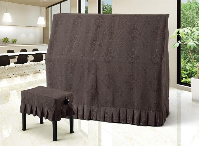 【送料無料】 アルプス オールカバー A-DBR アップライトピアノ ダークブラウン系ダマスク柄 ダマスクジャガードタイプ ピアノカバー※サイズによって価格が変わります。ご注文後に価格を訂正いたします。※椅子用カバーは別売りです。