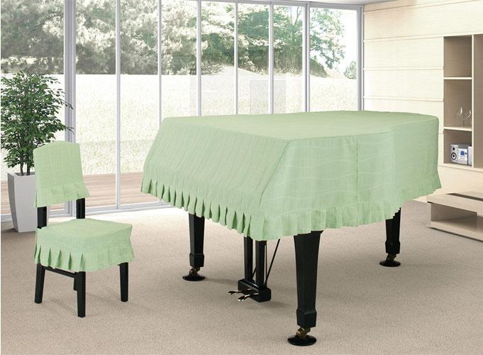 【送料無料】 アルプス グランドカバー G-NEG グランドピアノ グリーン系ループ柄 ジャガードタイプ ピアノカバー※サイズによって価格が変わります。ご注文後に価格を訂正いたします。※椅子用カバーは別売りです。