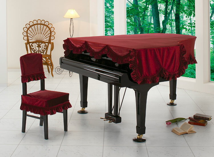 【送料無料】 アルプス グランドカバー・ビロード G-LB R グランドピアノ用ワインレッド ビロードタイプ 【オーダー品】 ※サイズによって価格が変わります。ご注文後に価格を訂正いたします。 ※椅子用カバーは別売りです。