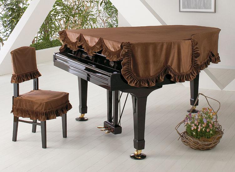 【送料無料】 アルプス グランドカバー・ビロード G-LB BR グランドピアノ用ソフトブラウン ビロードタイプ【オーダー品】 ※サイズによって価格が変わります。ご注文後に価格を訂正いたします。 ※椅子用カバーは別売りです。