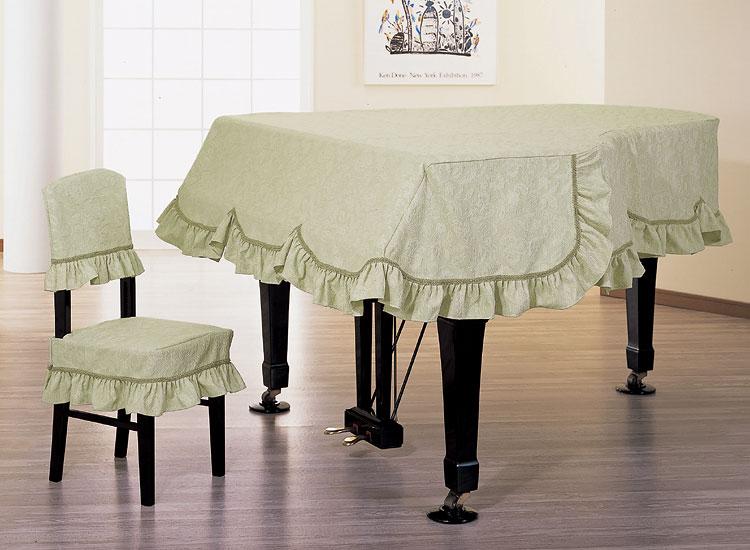 【送料無料】 アルプス グランドカバー G-DM グランドピアノ用グリーン系地模様花柄 フラワージャガードタイプ ※サイズによって価格が変わります。ご注文後に価格を訂正いたします。 ※椅子用カバーは別売りです。