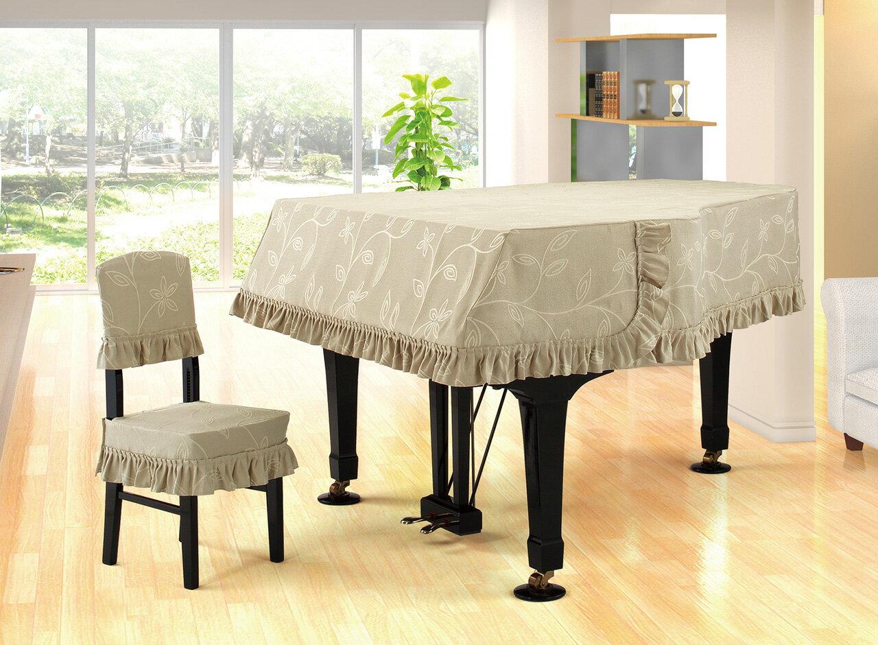 【送料無料】 アルプス グランドカバー・ジャガード G-BX グランドピアノ用ダークベージュ系リーフ柄 ジャガードタイプ ※サイズによって価格が変わります。ご注文後に価格を訂正いたします。 ※椅子用カバーは別売りです。