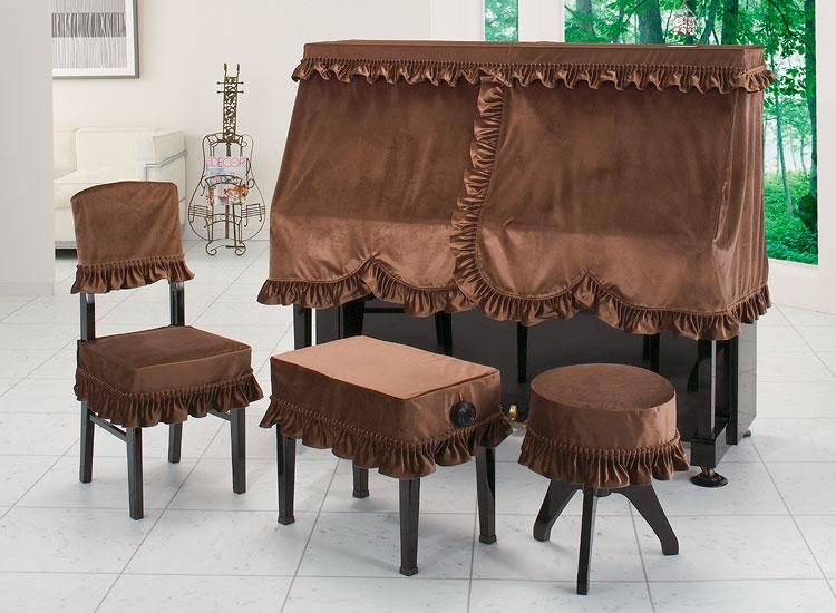 【送料無料】 アルプス ハーフカバー・ビロード H-LB BR アップライトピアノ用ソフトブラウン ビロードタイプ ピアノカバー ※サイズによって価格が変わります。ご注文後に価格を訂正いたします。 ※椅子用カバーは別売りです。