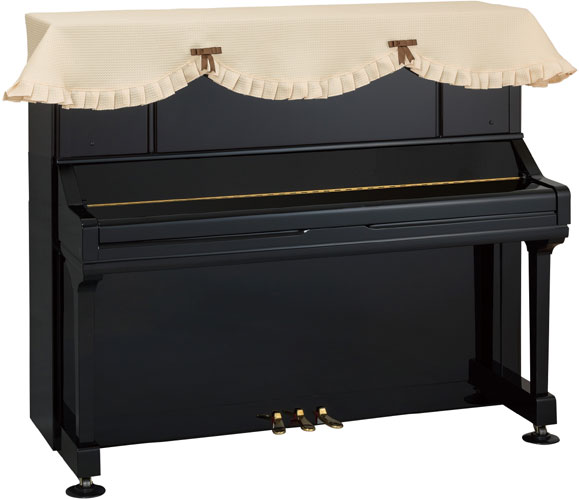 椅子用カバーは別売りです 甲南 アップライトピアノ用トップカバー メープル ピアノカバー 定番 初回限定 受注生産 MAPLE