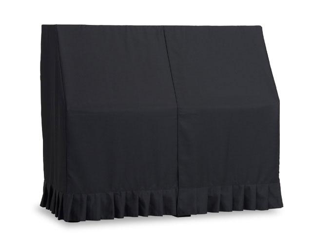吉澤 アップライトピアノ用オールカバー UP-FPBK 防炎加工生地 ブラック ピアノカバー