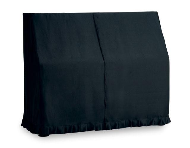 吉澤 アップライトピアノ用オールカバー UP-SBKR 1級遮光生地 黒(裏赤) ピアノカバー