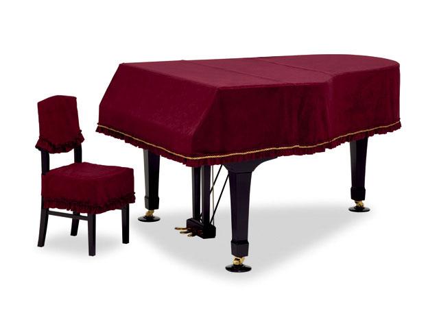 吉澤 グランドピアノカバー GP-413SE スエード エンジ ピアノカバー