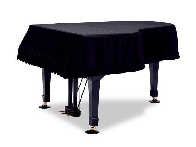 吉澤 グランドピアノカバー GP-SBKR 1級遮光生地 黒(裏赤) ピアノカバー