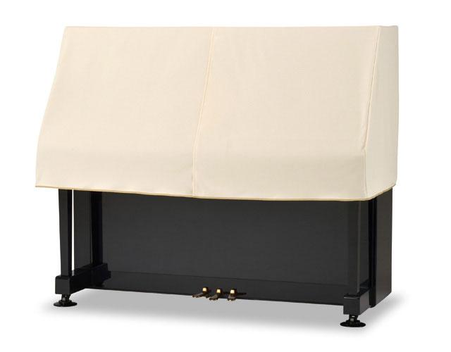 並行輸入品 サイズによって価格が変わります 椅子用カバーは別売りです 吉澤 アップライトピアノ用ハーフカバー ピアノケープ 安心の定価販売 ニット系 ピアノカバー PC-450BE ベージュ