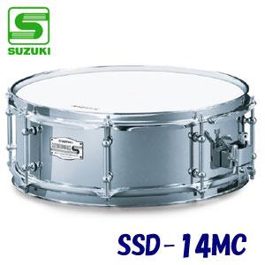 SUZUKI(スズキ) スネアドラム(小太鼓) 14インチ スチール銅 スチール銅 SSD-14MC【送料無料】 SSD-14MC【送料無料】, Morning Star Trading:cd8d4228 --- officewill.xsrv.jp