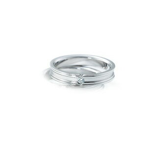 【ダイヤあり単品】 NINA RICCI ニナリッチ ウェディングリング PLUTINUM COLLECTION 6RB902 S 結婚指輪(マリッジリング) 【送料無料】