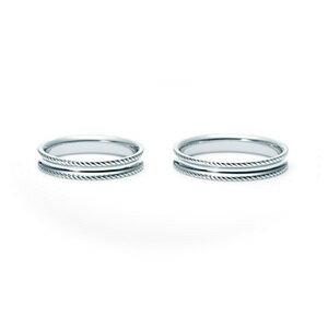 【ペアリング2本1組】 NINA RICCI ニナリッチ ウェディングリング TORSADE 6R1Q03 P 結婚指輪(マリッジリング) 【送料無料】