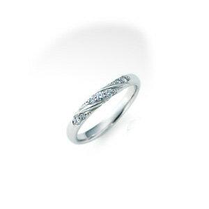 【ダイヤあり単品】 NINA RICCI ニナリッチ ウェディングリング TORSADE 6RB067 S 結婚指輪(マリッジリング) 【送料無料】