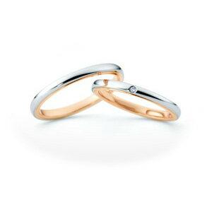【ペアリング2本1組ダイヤなし*ダイヤあり】 NINA RICCI ニナリッチ ウェディングリング ETERNITE 6R1F01/6R1F02 P 結婚指輪(マリッジリング) 【送料無料】