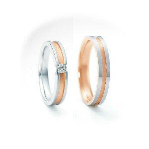 【ペアリング2本1組ダイヤあり*ダイヤなし】 NINA RICCI ニナリッチ ウェディングリング ETERNITE 6RM0003/6RL920 P 結婚指輪(マリッジリング) 【送料無料】
