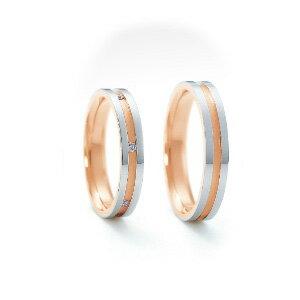 【ペアリング2本1組ダイヤあり*ダイヤなし】 NINA RICCI ニナリッチ ウェディングリング ETERNITE 6RM905/6RL920 P 結婚指輪(マリッジリング)