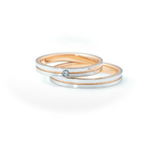 【ペアリング2本1組ダイヤあり*ダイヤなし】 NINA RICCI ニナリッチ ウェディングリング ETERNITE 6RM907/6RL924 P 結婚指輪(マリッジリング) 【送料無料】