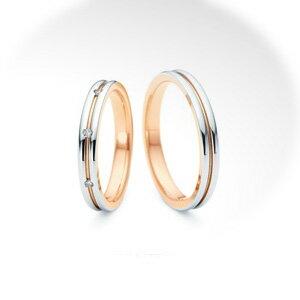 【ペアリング2本1組ダイヤあり*ダイヤなし】 NINA RICCI ニナリッチ ウェディングリング ETERNITE 6R1J05/6R1J06 P 結婚指輪(マリッジリング) 【送料無料】
